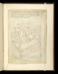 Burial of Richard, in The Pageants of Richard Beauchamp